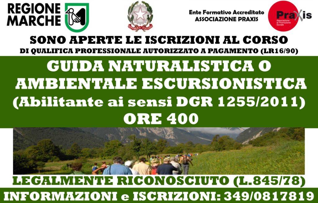 Corsi Guida Naturalistica Ambientale Escursionistica