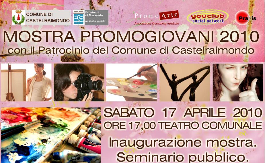 Progetto Promogiovani 2010 – Inaugurazione mostra e workshop