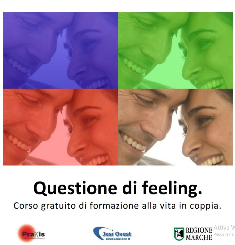 Progetto QUESTIONE DI FEELING: corso di formazione alla vita in coppia