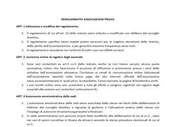 Praxis Associazione e Ente formativo | Presentazione