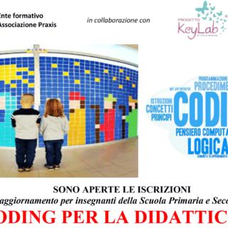 CORSO DI CODING PER LA DIDATTICA