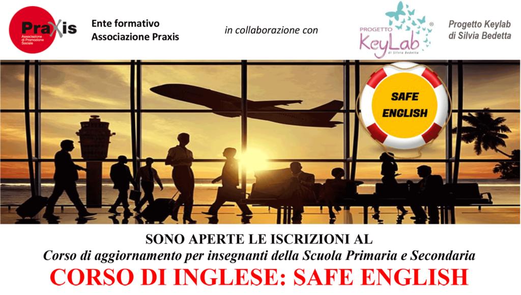 CORSO DI INGLESE PER INSEGNANTI SAFE ENGLISH